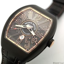 Franck Muller Vanguard Black Titanium and 18k Rose Gold V 45...