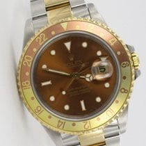 Rolex GMT-Master II Tigerauge Tiger Eye 16713