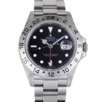 Rolex Oyster Perpetual Explorer II Automatic Watch 16570 bk...