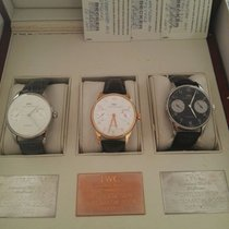 IWC Set Portugieser Limited Box 5000 Platinum, Pink Gold, Steel