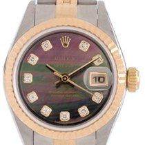 Rolex Ladies 2-Tone Steel & 18k Rolex Datejust Watch 79173