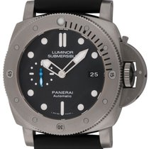 파네라이 (Panerai) : Luminor Submersible 1950 3 Days Titanio : ...