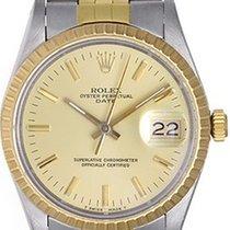 Rolex Date Men's 2-Tone Watch 15053
