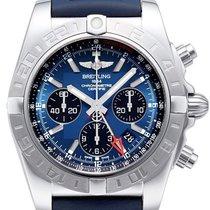 Breitling Chronomat 44 GMT Blackeye-Blau AB042011.C852.143S.A2...