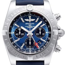 百年靈 (Breitling) Chronomat 44 GMT Blackeye-Blau AB042011.C852.1...