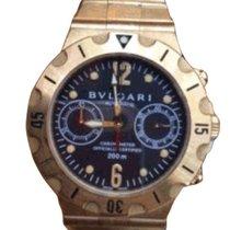 Bulgari SD38GVDGMT_bracelet Diagono Proffesional GMT 3 Time...