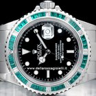Rolex Submariner Date Emeralds Bezel 16610 SEL