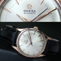 Omega Automatic Half Rotor Bumper Gold Cap Steel Mens Watch