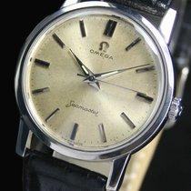 Omega Seamaster Manual Winding Steel Mens Wrist Watch 135.005