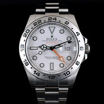Rolex Explorer II 42MM Orange Wh Dial Mint Condition