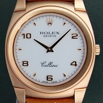 Rolex Cellini 5330 Manual Winding 18k Rose Gold 2008 Box&P...