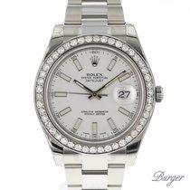 Rolex Datejust II White Diamonds