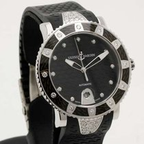 Ulysse Nardin Lady Marine Diver - 40mm steel / diamonds 8103-101