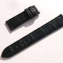 Zenith Croco Band Strap Black 18 Mm 53/113 New Z18-32