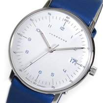 Junghans マックスビル クオーツ レディース 腕時計 047454000 ホワイト