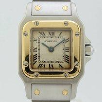 Cartier Santos Galbee Quartz Steel-Gold Lady 1567