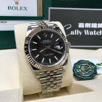 Rolex Cally - {2017 New} Datejust 41mm 126334 Black dial