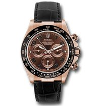 Rolex Daytona Everose Gold - Leather Strap