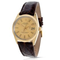 Rolex Date 1550 Men's Watch in Gold Plate