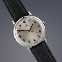 Omega stainless steel manual wind watch