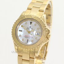Rolex Yellow Gold Lady Yacht Master Reference 69628 18K