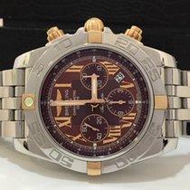 Breitling Chronomat B01 Ouro Rosé & Aço 44mm Completo...