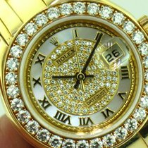 Rolex Ladies Pearl Master Ref.80298 18K Yellow Gold Factory...