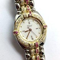 Chopard Gstaad 18k Yellow Gold & Steel Ladies Watch W/...