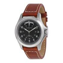 Hamilton Khaki King Mens Leather Strap Watch H64455533