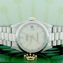 Rolex President Datejust Midsize 18K White Gold 31MM Automatic...