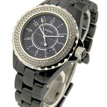 Chanel H0949 J12 - Black - Small Size H0949 - Black Ceramic...