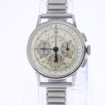 Omega Vintage Chronograph 27 CHRO C12 with Guy Freres bracelet
