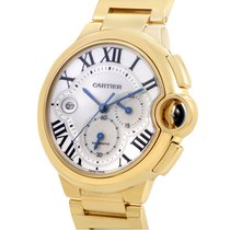 Cartier Ballon Bleu Chronograph 18K Solid Yellow Gold