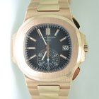 Patek Philippe Nautilus CHRONOGRAPH Full Rose Gold,MINT