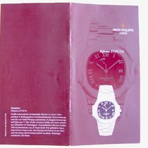 Patek Philippe Katalog / Booklet zur Jumbo NAUTILUS 3710