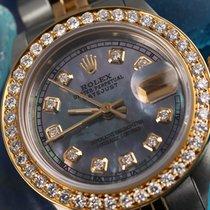 Rolex 26mm Datejust 18k/ss 2tone Tahitian Mop Mother Of Pearl...
