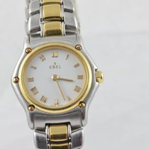 Ebel 1911 Damen Uhr 22mm Quartz Stahl/gold Mini Classic Wave...