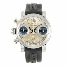 Graham Swordfish Left-Hand Chronograph Watch 2SWAS (Pre-Owned)