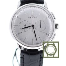 Zenith Elite Chronograph Classic 42mm Silver Dial  NEW