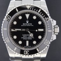 Rolex Submariner Steel No Date, Full Set 40MM, Mint From 2012