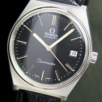 Omega Seamaster Automatic Quick Set Date Steel Mens Watch