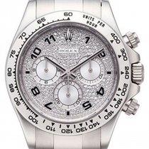 Rolex Cosmograph Daytona 116509 116509-PAVE Pave Diamond...