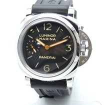 Panerai Luminor Marina 1950 3 days Black Dial Brown Leather...