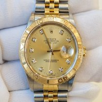 Rolex Datejust 36 champagne dial in stainless steel and yellow...