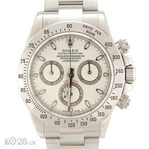 Rolex Daytona 116520  Steel White Dial Papers 2014