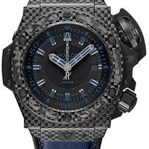 Hublot King Power 48mm Oceanographic 4000 All Black Blue...