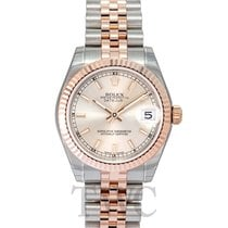 롤렉스 (Rolex) Datejust Lady 31 Ivory/Everose gold 31mm - 178271