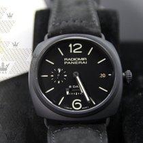 Panerai PAM00384  Radiomir 8 Days Black Dial Automatic Black...