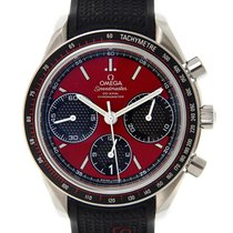 Omega Speedmaster Stainless Steel Red Automatic 326.32.40.50.1...