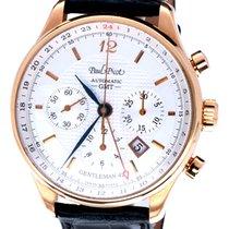 Paul Picot Gentleman GMT Chronograph Gold 42 mm (Full Set)